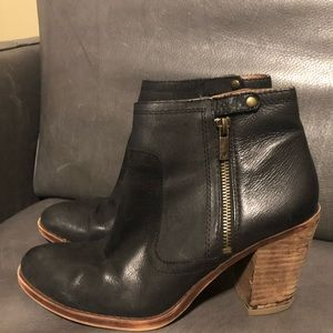 Lucky brand booties size 8.5